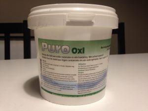 Schoonmaken met Puro Oxi