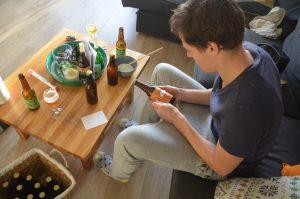 Etiketten bier