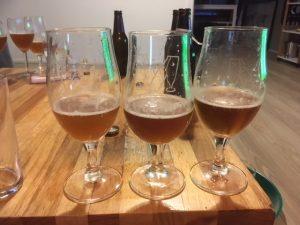 Bier rijpen met houtsnippers