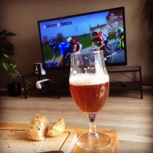 Bier en wielrennen