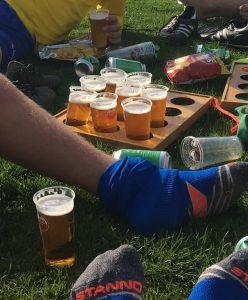 Bier na het sporten