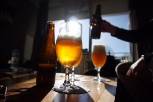 internationale bier drink dag