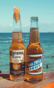 Citroen in bier