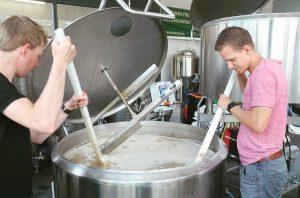 recept opschalen bier brouwen